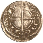 Denier - Alphonse II d'Aragon - Comte de Provence – revers