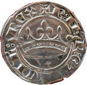 Sol Coronat - Robert d'Anjou - Comte de Provence – avers