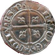 Sol Coronat - Robert d'Anjou - Comte de Provence – revers