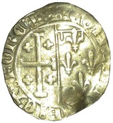 Sol coronat - Louis II d'Anjou - Comte de Provence – revers