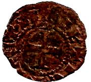 Obole - Charles Ier d'Anjou – revers