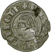 Obole - Charles Ier d'Anjou (avec croix coupant la légende) – avers