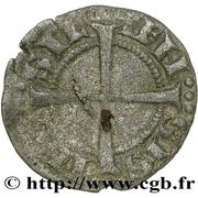 Obole - Charles Ier d'Anjou (avec croix coupant la légende) – revers