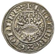 ½ Gros - Jeanne de Naples and Louis de Tarante – avers