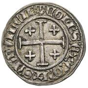 ½ Gros - Jeanne de Naples and Louis de Tarante – revers
