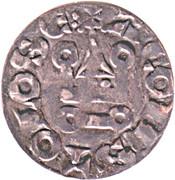 Denier - Alphonse de France -  avers
