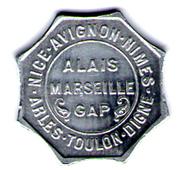 25 Centimes - Chambres de commerce - Région provençale [04-05-06-13-30-83-84] - ESSAI -  avers