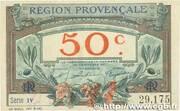 50 centimes - Région provençale – avers