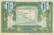 1 franc - Région provençale – revers