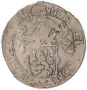 Leeuwendaalder (Lion Daalder/Lion d'argent) de Gelderland – avers