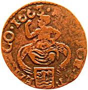 1 duit (Zeeland) -  avers