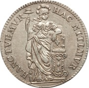 10 Stuivers / ½ Gulden (Holland) – revers