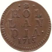 1 duit (Hollande) – revers