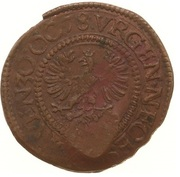 1/2 Stuiver - Emergency coinage -  avers