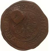 4 Stuivers - Emergency coinage – avers