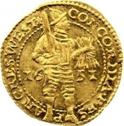 Gold Ducat – avers