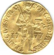 1 Ducat (Trade coinage / Utrecht) – avers