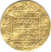 1 Ducat (Trade coinage / Utrecht) – revers