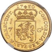 7 Gulden – avers