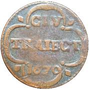 1 duit (Utrecht) – revers