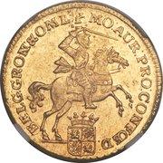 7 gulden (Groningen & Ommeland) – avers