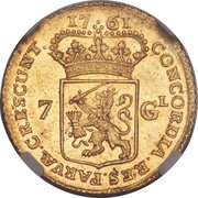 7 gulden (Groningen & Ommeland) – revers