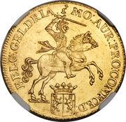 14 Gulden (Gelderland) – avers