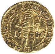 1 ducat (Zeeland) – avers