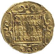 1 ducat (Zeeland) – revers