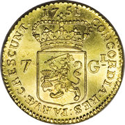 7 Gulden – revers