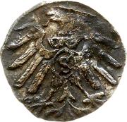 1 pfennig - Albert de Brandebourg – revers