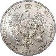2 vereinsthaler - Friedrich Wilhelm IV – revers