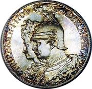 2 Mark - Wilhelm II (Royaume de Prusse) – avers