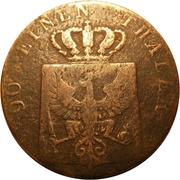 4 pfenninge - Friedrich Wilhelm IV – avers