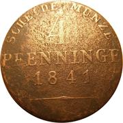 4 pfenninge - Friedrich Wilhelm IV – revers