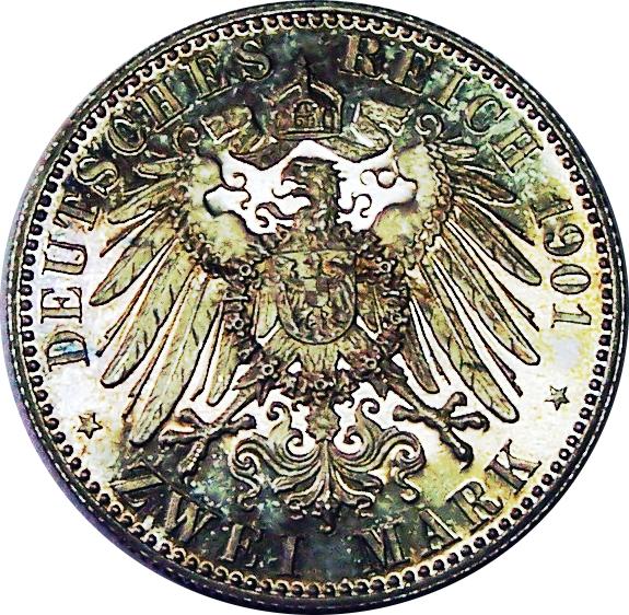 2 Mark Wilhelm Ii Royaume De Prusse Royaume De Prusse Numista