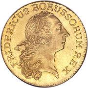 1 Friedrich d'or - Friedrich II -  avers
