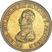 ½ Friedrich d'or - Friedrich Wilhelm III – avers