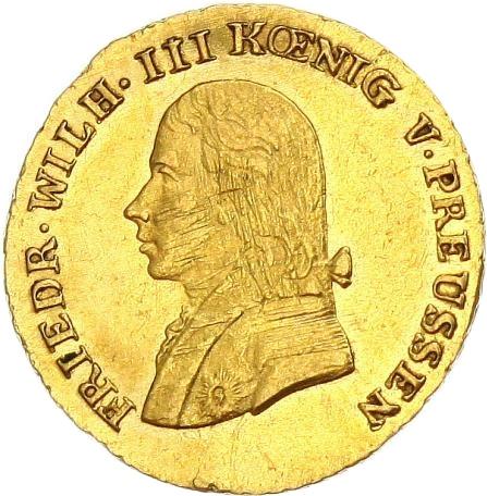 ½ Friedrich Dor Friedrich Wilhelm Iii Royaume De Prusse Numista