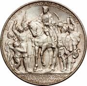 2 Mark - Wilhelm II (Déclaration de guerre de la Prusse contre Napoléon) – avers