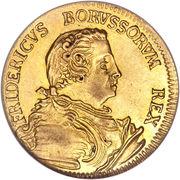 ½ Friedrich d'or - Friedrich II – avers