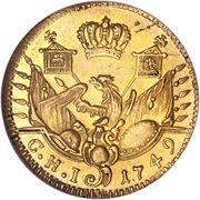 ½ Friedrich d'or - Friedrich II – revers