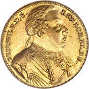 ½ Wilhelm d'or - Friedrich Wilhelm I – avers