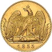 1 Friedrich d'or - Friedrich Wilhelm IV – revers
