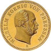 1 Krone - Wilhelm I – avers