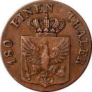 2 pfenninge - Friedrich Wilhelm III – avers