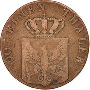 4 pfenninge - Friedrich Wilhelm III – avers