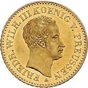 1 Friedrich d'or - Friedrich Wilhelm III – avers