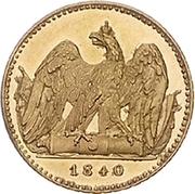 1 Friedrich d'or - Friedrich Wilhelm III – revers
