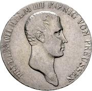 ⅓ thaler - Friedrich Wilhelm III – avers